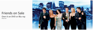 Buy Friends on DVD or Blu-ray!