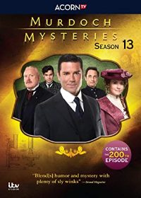 Murdoch Mysteries, Season 13 DVD cover