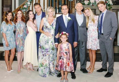 Sonny and Carly's wedding