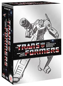The Transformers: The Complete Original Series DVD cover