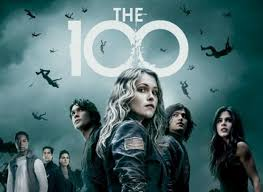 "The cast of ""The 100"" on The CW"