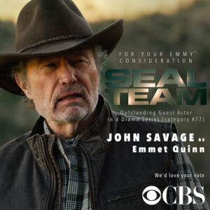 John Savage Emmy picture