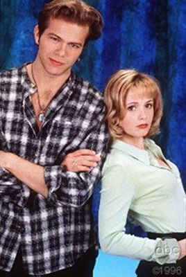 """Brian Gaskill as Bobby and T.C. Warner as Kelsey on """"All My Children."""""""