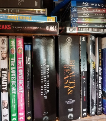 Some of my DVDs