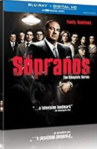 The Sopranos: The Complete Series (Blu-ray + Digital HD) cover