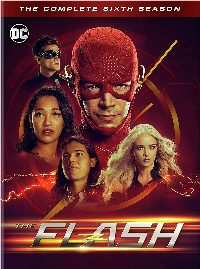 The Flash: The Complete Sixth Season DVD cover