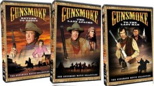Gunsmoke movie DVD covers