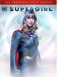 Supergirl: The Complete Fifth Season DVD cover