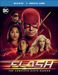 The Flash: The Complete Sixth Season Blu-ray cover