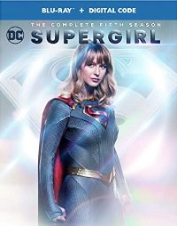 Supergirl: The Complete Fifth Season Blu-ray cover