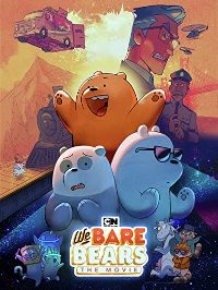 We Bare Bears, The Movie DVD cover
