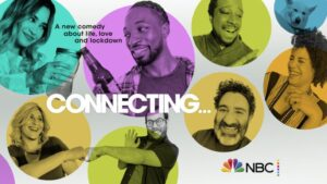 "poster for ""Connecting..."" on NBC"