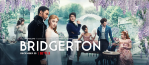 """Bridgerton"" on Netflix"