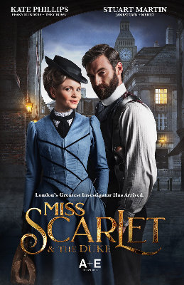 Miss Scarlet and the Duke poster