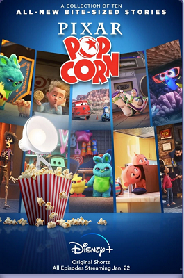 """Pixar Popcorn"" on Disney+"