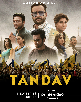 "Indian drama ""Tandav"" on Netflix"