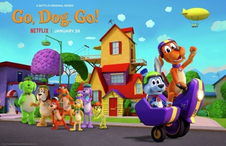 """Go Dog Go"" on Netflix"
