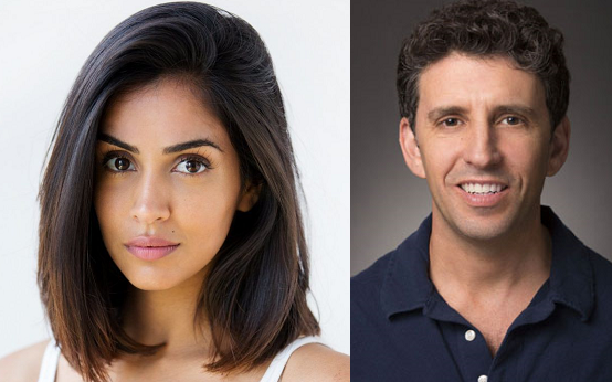 "Parveen Kaur and Jeff Rake of ""Manifest"" on NBC"