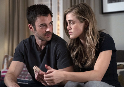 "Melissa Roxburgh and Matt Long of ""Manifest"" on NBC"