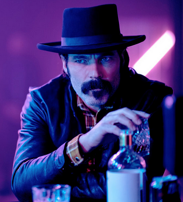 "Tim Rozon as Doc Holliday on ""Wynonna Earp"" on Syfy"