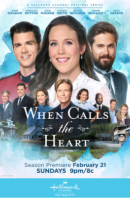 """When Calls the Heart"" poster"