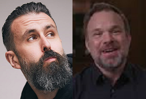"Norbert Leo Butz and Scroobius Pip of ""Debris"" on NBC"