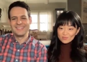 "Andrew Leeds and Alice Lee of ""Zoey's Extraordinary Playlist"" on NBC"