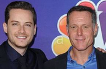"Jesse Soffer and Jason Beghe of ""Chicago PD"" on NBC"