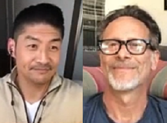 """Steven Weber and Brian Tee of """"Chicago Med"""" on NBC"""