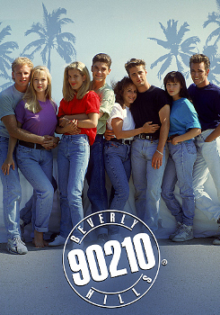 """cast photo from """"Beverly Hills, 90210"""""""