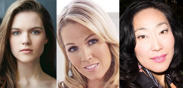 """""""Left For Dead"""" stars Jennie Garth, Anwen O'Driscoll and director Gloria Ui Young Kim on Lifetime"""