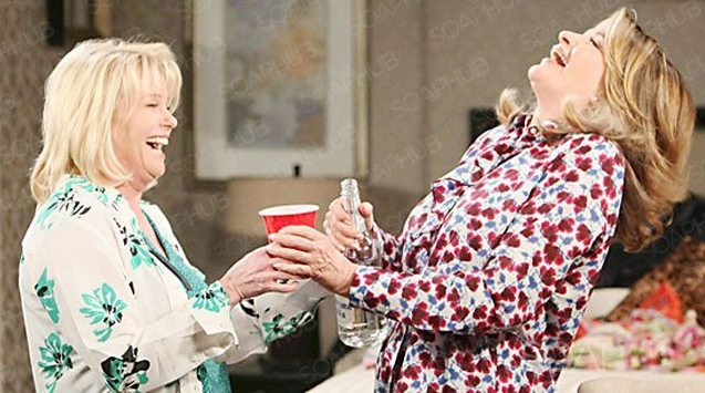 Adrienne and Marlena laughing