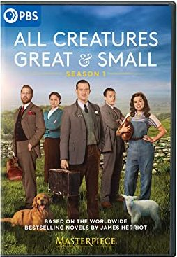 """""""Masterpiece: All Creatures Great And Small"""" DVD cover"""