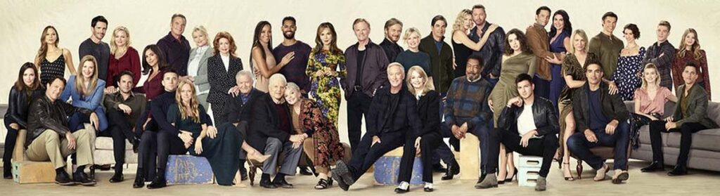 Days of Our Lives Cast Photo 55th Anniversary