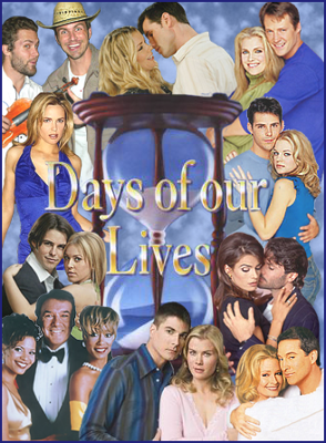Days of Our Lives collage of old cast