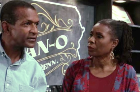 Lenny and Phyllis at the Tan-O on GH