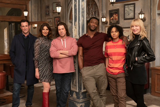 """The cast of """"Leverage: Redemption"""" on IMDB.TV"""