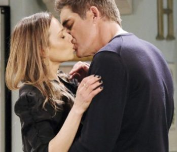Rafe and Ava kissing on Days