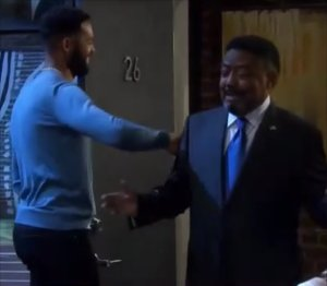 """Abe and Eli in """"Days of Our Lives"""" 8/18/21"""