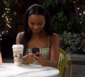 """Chanel in """"Days of Our Lives"""" 8/19/21"""