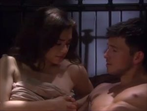 """Ben and Ciara in bed in """"Days of Our Lives"""" 8/19/21"""