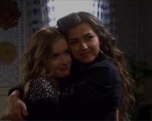 """Ciara and Claire in """"Days of Our Lives"""" 8/20/21"""