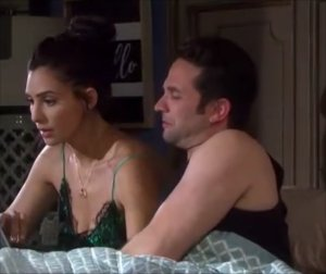 """Gabi and Jake in """"Days of Our Lives"""" 8/25/21"""