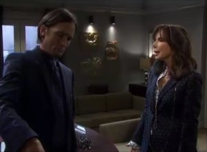 """Philip and Kate in """"Days of Our Lives"""" 8/25/21"""