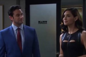 """Jake and Gabi on """"Days of Our Lives"""" 8/26/21"""