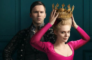 """Elle Fanning and Nicholas Hoult in """"The Great"""""""
