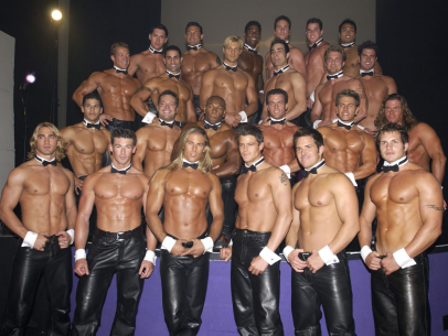 Chippendales dancers back in the 80s