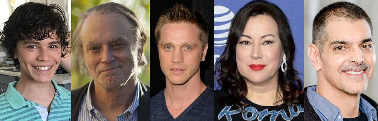"""actors from """"Chucky"""" on Syfy"""