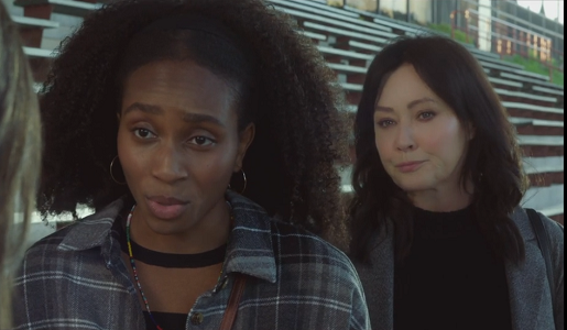 """Shannen Doherty and Favour Onwuka star in """"Dying to Belong"""" on Lifetime"""