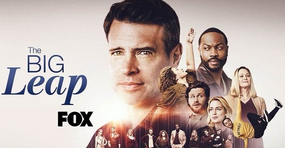 """""""The Big Leap"""" on FOX poster"""